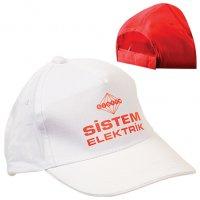 20301 K-Promosyon Şapka (Beyaz)